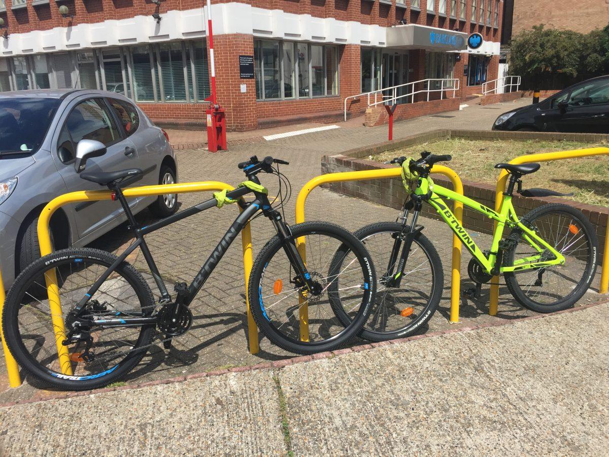 Live London on a bike: Liverpool Street to Roehampton